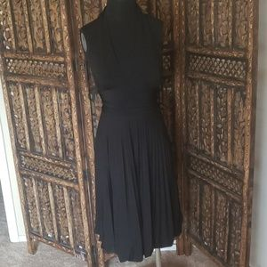 Black size 2 halter top dress
